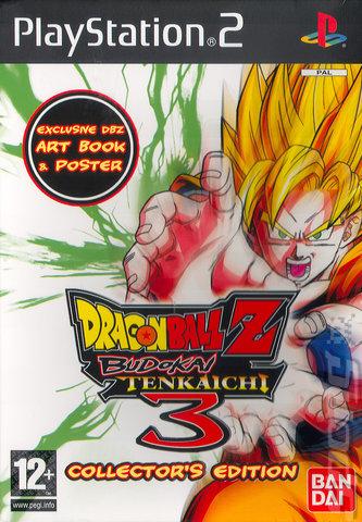 Covers Box Art Dragon Ball Z Budokai Tenkaichi 3 Ps2 2 Of 3