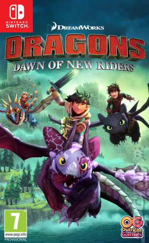 Dragons: Dawn of New Riders - Switch Cover & Box Art