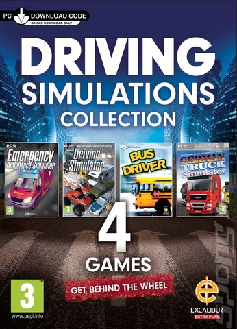 Driving Simulations Collection - PC Cover & Box Art