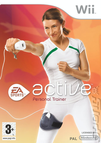 EA Sports Active: Personal Trainer - Wii Cover & Box Art