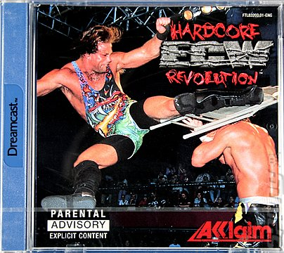 Extreme Championship Wrestling - Dreamcast Cover & Box Art