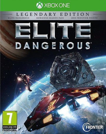 Elite: Dangerous - Xbox One Cover & Box Art