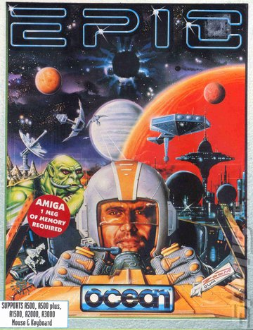 Epic - Amiga Cover & Box Art