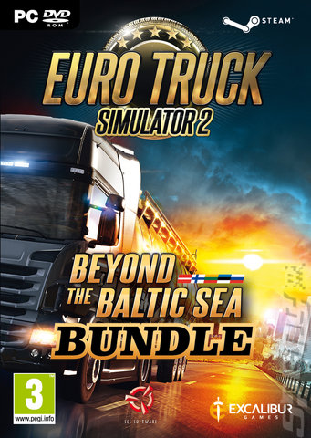 Euro Truck Simulator 2: Beyond the Baltic Sea Bundle - PC Cover & Box Art