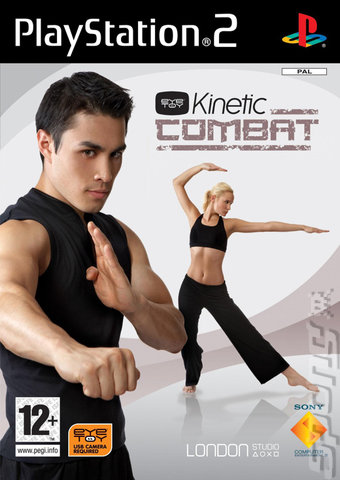 EyeToy Kinetic Combat - PS2 Cover & Box Art