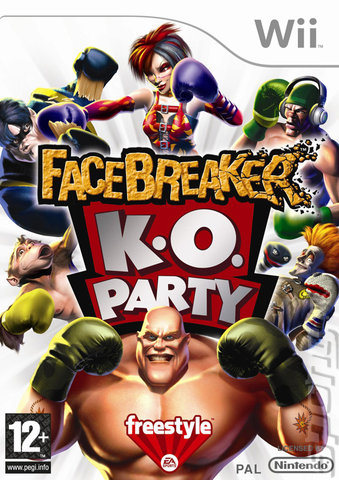FaceBreaker K.O. Party - Wii Cover & Box Art