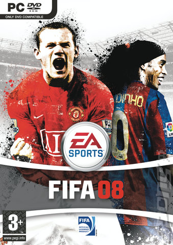FIFA 08 - PC Cover & Box Art