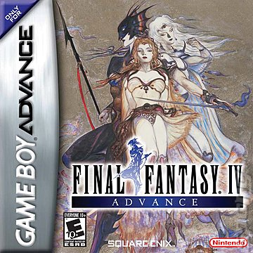 Final Fantasy IV Advance - GBA Cover & Box Art