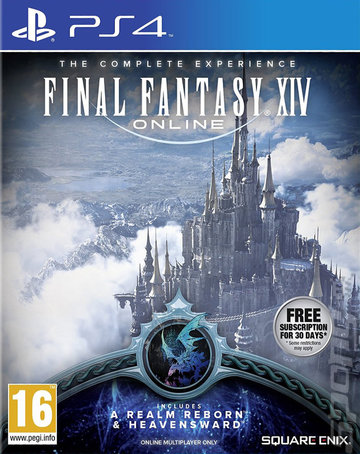 Final Fantasy XIV: Online: The Complete Experience - PS4 Cover & Box Art
