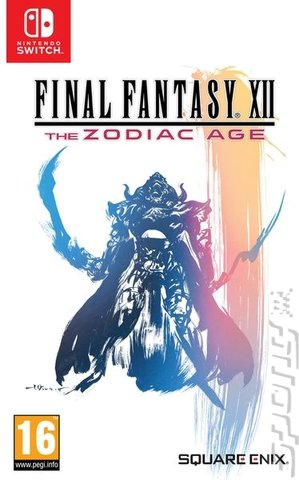 FINAL FANTASY XII: The Zodiac Age - Switch Cover & Box Art