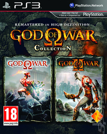 God of War Collection - PS3 Cover & Box Art