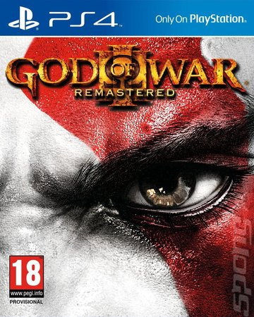 God of War III: Remastered - PS4 Cover & Box Art
