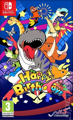 Happy Birthdays - Switch Cover & Box Art