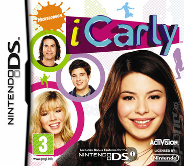 iCarly - DS/DSi Cover & Box Art