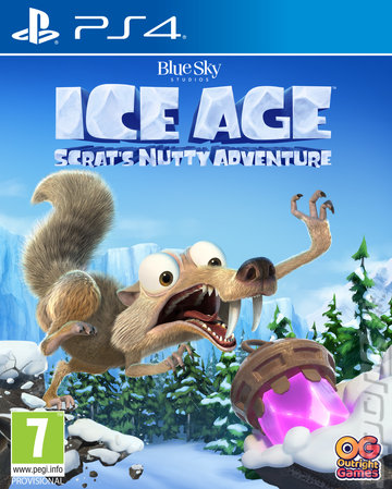 Ice Age: Scrat's Nutty Adventure - PS4 Cover & Box Art
