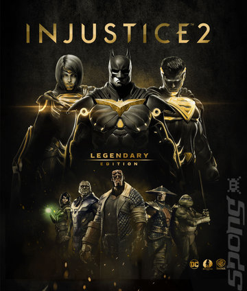 Injustice 2: Legendary Edition - PS4 Cover & Box Art