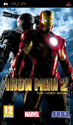 Iron Man 2 - PSP Cover & Box Art