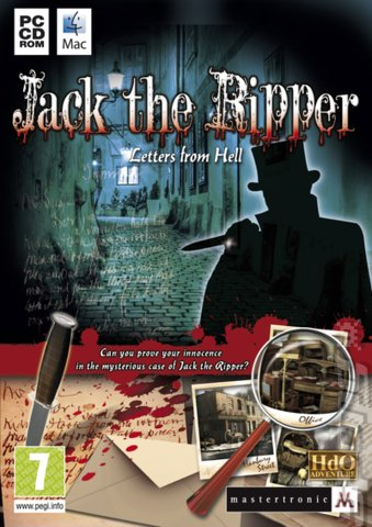 covers box art jack the ripper letters from hell pc