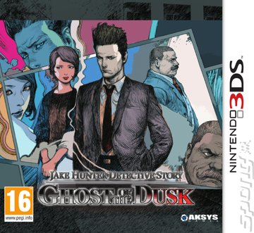 Jake Hunter Detective Story: Ghost of the Dusk - 3DS/2DS Cover & Box Art