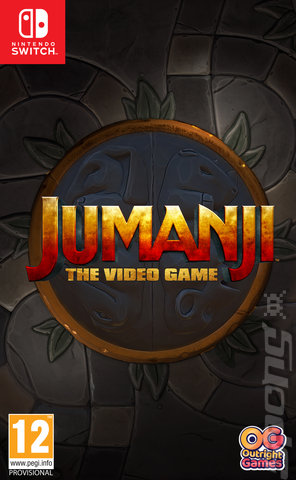 Jumanji: The Video Game - Switch Cover & Box Art