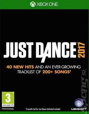 Just Dance 2017 - Xbox One Cover & Box Art