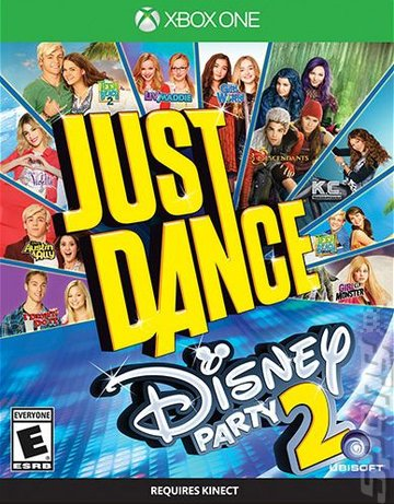 Just Dance: Disney Party 2 - Xbox One Cover & Box Art