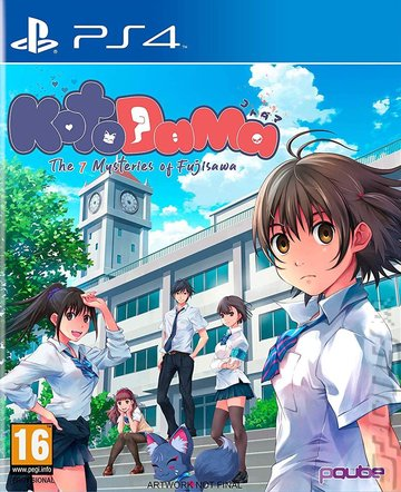 Kotodama: The 7 Mysteries of Fujisawa - PS4 Cover & Box Art