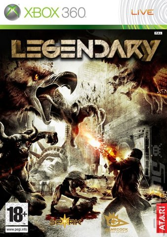 Legendary - Xbox 360 Cover & Box Art
