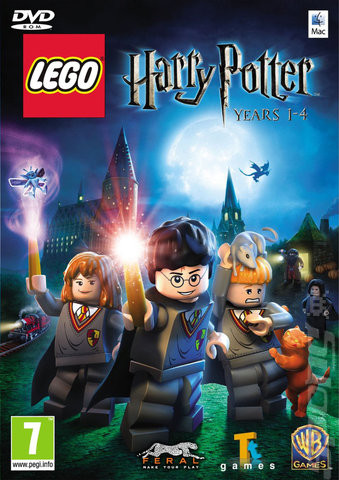 LEGO Harry Potter: Years 1-4 - Mac Cover & Box Art