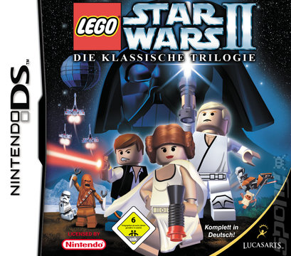 LEGO Star Wars II: The Original Trilogy - DS/DSi Cover & Box Art