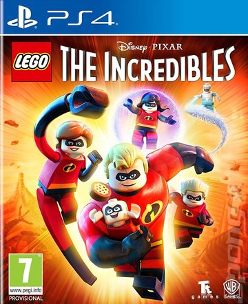 LEGO The Incredibles - PS4 Cover & Box Art