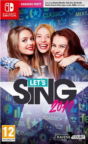 Let's Sing 2019 - Switch Cover & Box Art