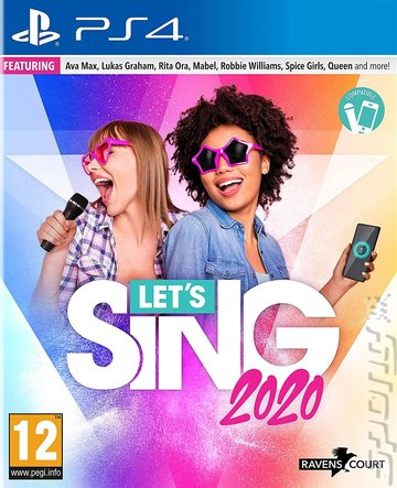 Let's Sing 2020 - PS4 Cover & Box Art