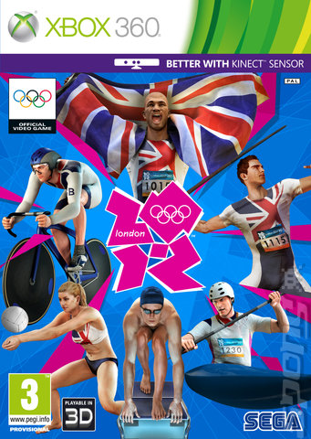 London 2012: The Official Video Game of the Olympic Games - Xbox 360 Cover & Box Art