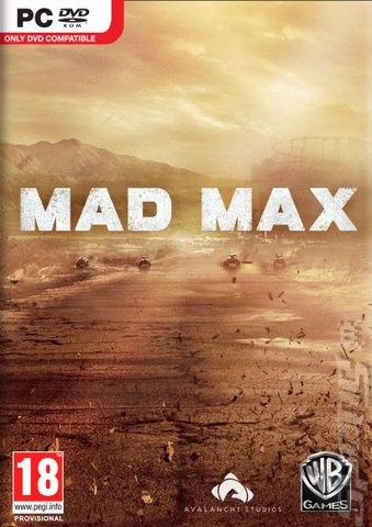 Mad Max - PC Cover & Box Art