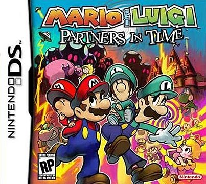 Covers Box Art Mario And Luigi Partners In Time Ds Dsi