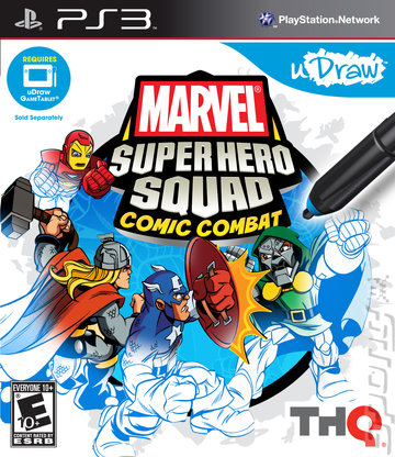 Marvel Super Hero Squad Comic Combat - PS3 Cover & Box Art