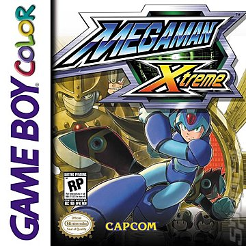 Mega Man: Xtreme - Game Boy Color Cover & Box Art