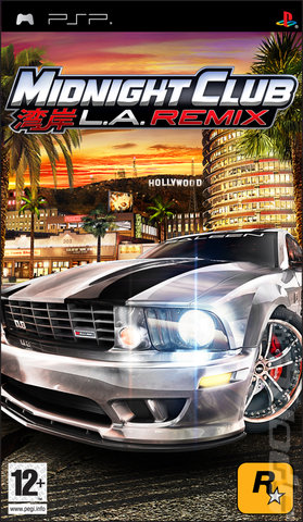 Midnight Club: LA Remix - PSP Cover & Box Art