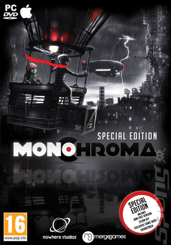 Monochroma - PC Cover & Box Art