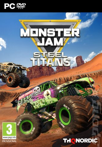 Monster Jam: Steel Titans - PC Cover & Box Art