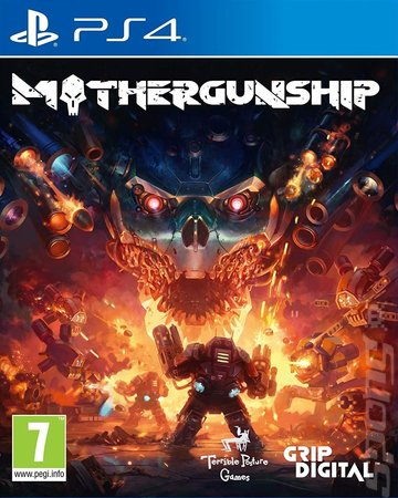 Mothergunship - PS4 Cover & Box Art