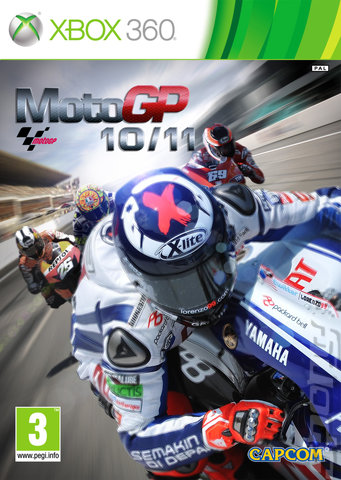 MotoGP 10/11 - Xbox 360 Cover & Box Art