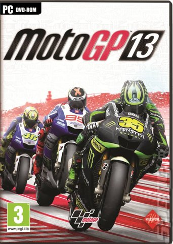 MotoGP 13 - PC Cover & Box Art