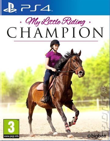 My Little Riding Champion - PS4 Cover & Box Art