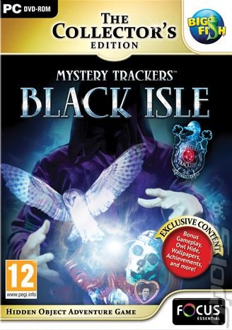 Mystery Trackers: Black Isle Collector's Edition - PC Cover & Box Art