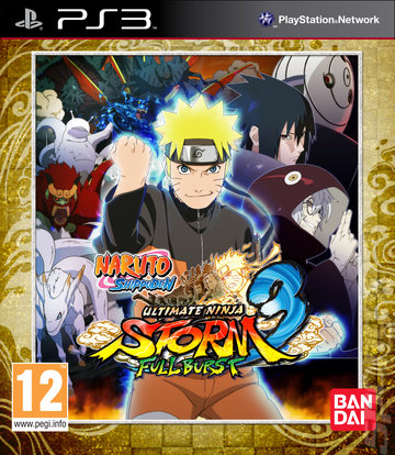Naruto Shippuden: Ultimate Ninja Storm 3: Full Burst - PS3 Cover & Box Art