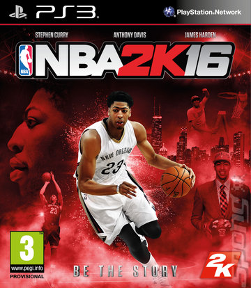 NBA 2K16 - PS3 Cover & Box Art