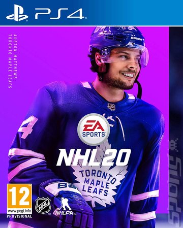 NHL 20 - PS4 Cover & Box Art