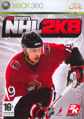 NHL 2K8 - Xbox 360 Cover & Box Art
